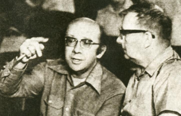 Gennadij Roždestvenskij e Dmitrij Šostakovič nel 1974