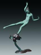 Liu Yuting, The Story of Flower, 2009. Bronze